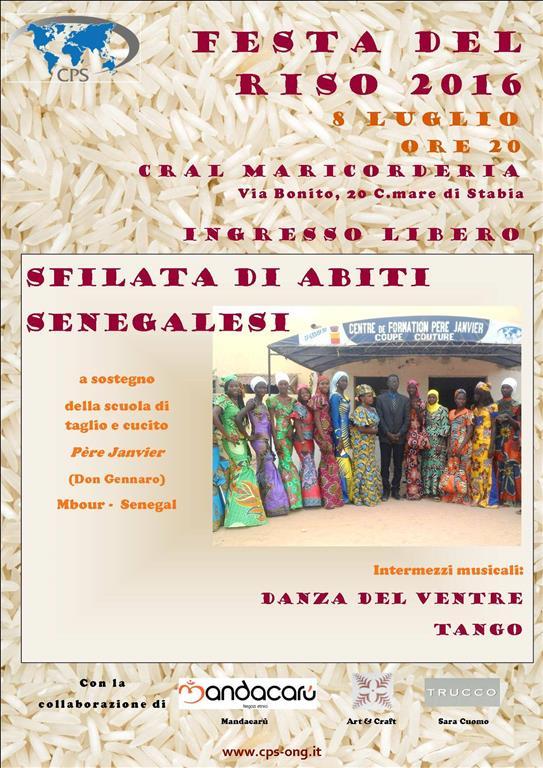 Festa del-Riso e Sfilata di abiti senegalesi