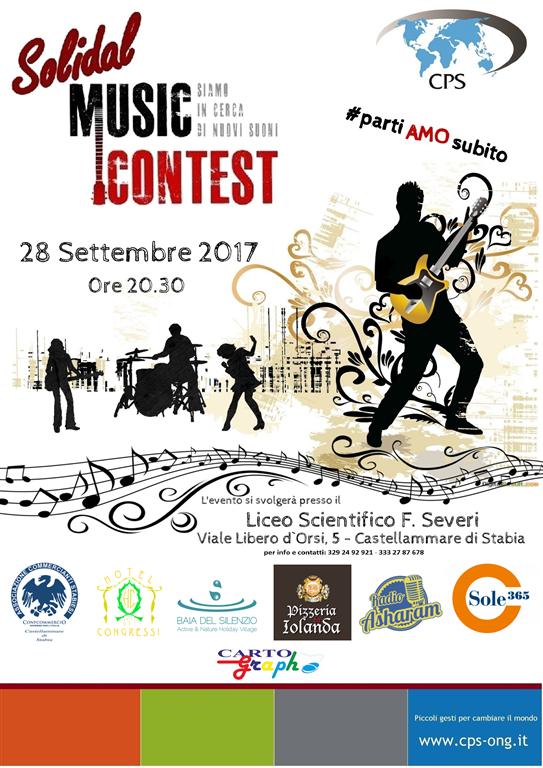 Manifestazione Solidal music contest