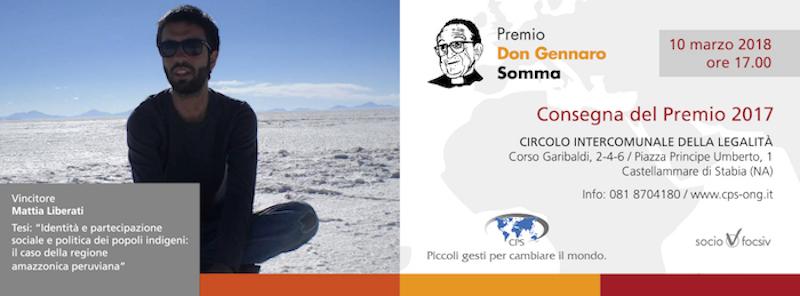 Premio Don Gennaro Somma 2017